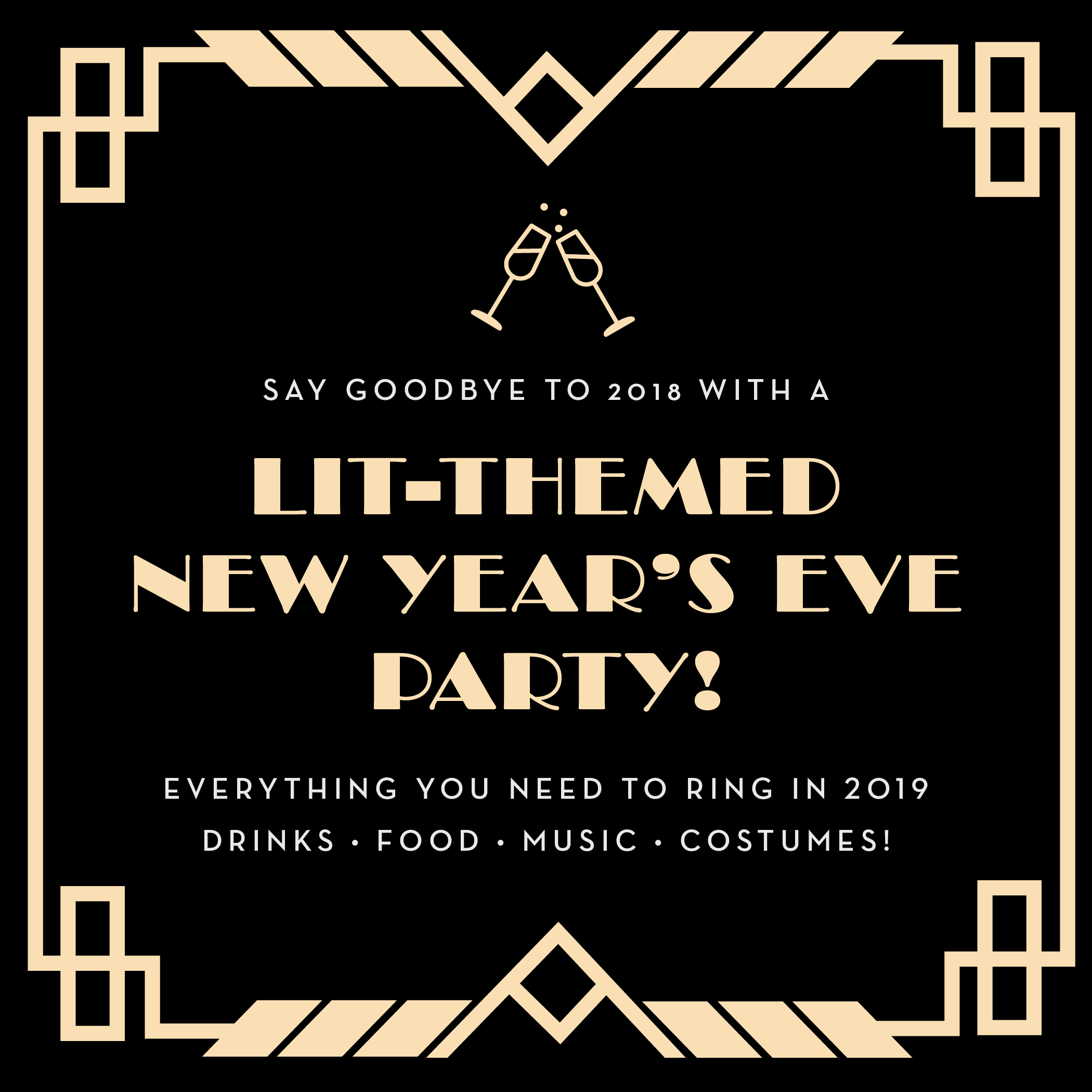 How to Throw a Great Literary-Themed New Year's Eve Party