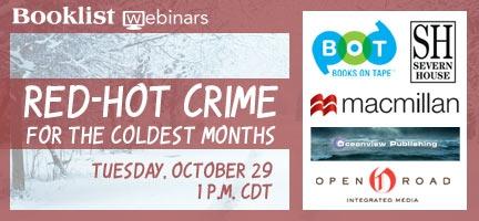 Booklist Crime webinar