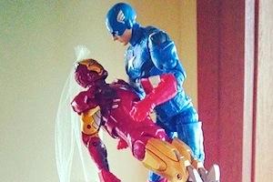Tony and Cap
