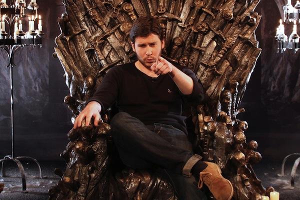 Podrick throne