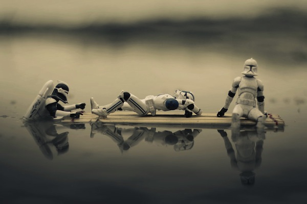 Clones chilling out